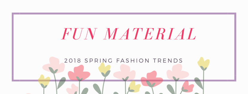 2018 spring fashion trends, GLITTER FOR SPRING, PEARLS FOR SPRING, PLASTIC FOR SPRING