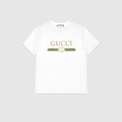 Gucci logo cotton T-shirt